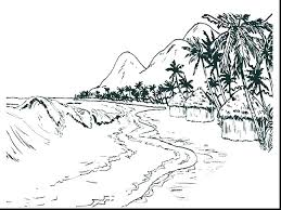 Free Printable Scenic Coloring Pages Scenery Colouring Nature Scenes