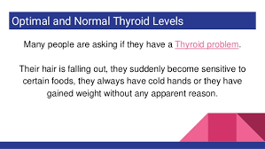 Thyroid Level Chart For Cats Optimal And Normal Thyroid Levels
