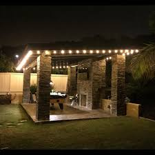 patio lights. Delighful Patio Holigoo 25Ft G40 Bulb Globe String Lights With Clear Backyard Patio  Vintage Bulbs Decorative Outdoor Garland Weddingin Lighting Strings From  Throughout N