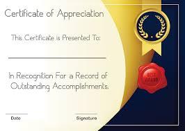 Certificate Of Appreciation Volunteer Work 5 Sample Certificate Of Appreciation Form Template