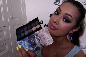 sleek makeup arabian nights smoke shadows eyeshadow palette review swatches you