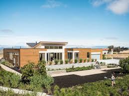 Blu Homes Modern Green Premium Prefab Modular Bay Area Homes - Green home design