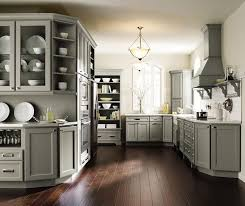 ... Brenner gray kitchen cabinets in Maple Willow ...