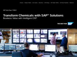 Transform Chemicals with SAP Solutions