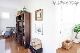 The Lettered Cottage Wood Plank Wall