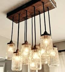 make a mason jar chandelier mason jar chandelier best of light fixture from mason jars would