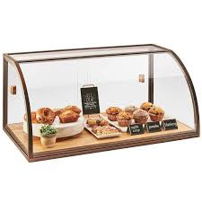 Bakery Display Stands Mil 100 Arched Sliding Door Vintage Bakery Display Case With Wood 37