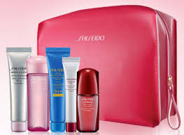 free shiseido 6 piece gift with purchase 94 value