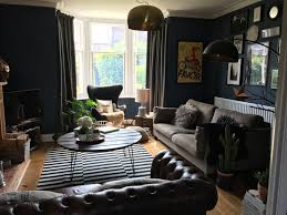 Paint My Living Room Dark Interiors Living Room Painted With Farrow And Ball Stiffkey