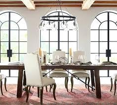 glass globe chandeliers chandelier pottery barn modern