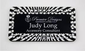 Premier Designs Bling Name Badges