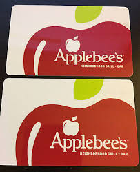 2 x 5 applebee s gift cards 10 total value fast shipping