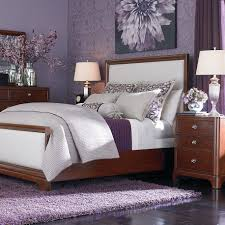 Purple And Brown Bedroom Soft Rug Completed Dark Purple Bedroom Decorating Ideas Dark Brown