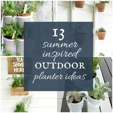 13 summer inspired outdoor planter ideas beautify your outdoor space with these awesome planter ideas