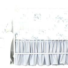 gray and white bedding marbled elephant crib with gathered skirt grey chevron set all