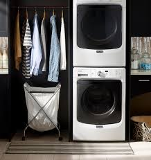 stackable washing machine. Maytag 3505 Laundry Pair Stackable Washing Machine