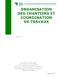 Organisation Des Chantiers 2ie
