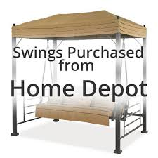 wood swings home depot brilliant hampton bay plaistow 3 person wicker outdoor swing with canopy intended for 2 accesoalanube com wood porch swings home