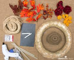 how to make a gorgeous fall wreath for under 30 diy card blog