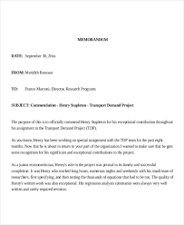 Memorandum Examples Business 5 Blank Invoice