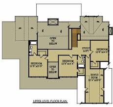 Large Southern brick house plan by Max Fulbright Designsbrick house floor plan upper level