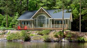 luxury small lake cabin plans