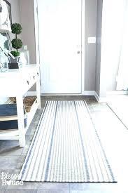 runner rugs pretty striped blue and white rug com furniture