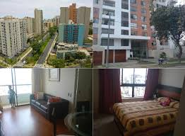 Lima Bedroom Furniture For Rent 2 Bedrooms Jesaos Maria Lima Peru Avenida San Felipe
