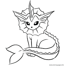Moon Pokemon Coloring Page Printable Coloring Page For Kids