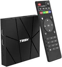 Android TV Box 10.0 2GB RAM 16GB ROM Smart TV Box, T95H Allwinner H616 Quad  Core 2020 6K TV Box with 64 Bit, H.265, 3D, 2.4G WiFi, 10/100M Ethernet  etc.: Amazon.de: Electronics & Photo