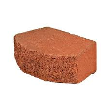 basic red retaining wall block common 4 in x 12 in actual 4 in x 11 5 in at com