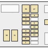 toyota 4runner 1996 1997 fuse box diagram auto genius mazda mx5 fuse 2000 Toyota 4Runner Fuse Box Diagram 1997 Toyota 4runner Fuse Box Diagram #49