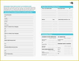 Free Medical Forms Templates Of Free Printables