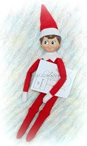 Elf On The Shelf Girl Coloring Pages Elf On The Shelf Coloring Page