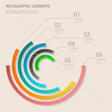Modern Pie Chart Modern Vector Abstract Pie Chart Infographic Elements