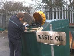 if you maintain your own car van or motorbike you need to make sure you look after the used oil when you change it so it doesn t pollute your local