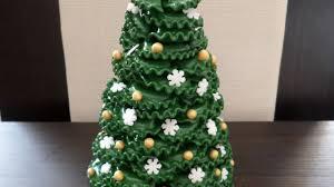 Play Doh Christmas Tree Miniature  How To Make Miniature At Home Christmas Tree
