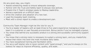 recruitment meetup image 7 copywriter job description