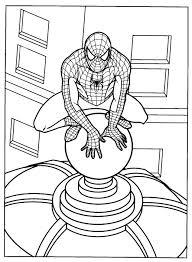 Uomo Ragno Da Stampare E Colorare Con Disegni Di Spiderman 2 Disegni