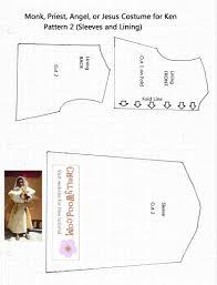 Monk Robe Pattern Custom Design