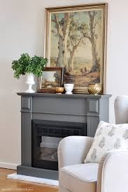 diy marble hearth and fireplace makeover the painted hive