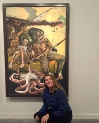 ARTabroad Ava Larson '20 enjoys the art... - The Trout Gallery of Dickinson  College   Facebook