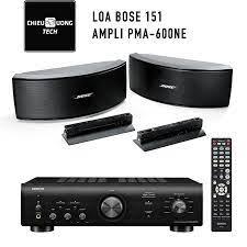 Dàn âm thanh: Loa Bose 151 và ampli Denon PMA-600NE – Chiêu Dương Tech