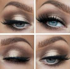 dark brown eye makeup for prom