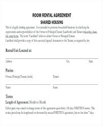 Free Rental Form Room Rental Agreement Free Doc Template Download Rent A Tenancy
