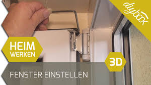 Fenster Einstellen 3d Youtube