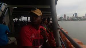 ferrying from kigamboni to dar es salaam mainland beautiful scenery