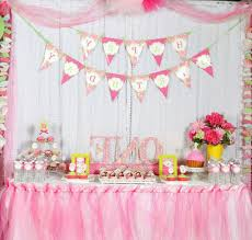 extraordinary baby girl first birthday decorations 21 for your