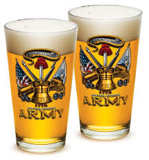 pint gles armed forces gifts for men or women army men american beer glware army antique armor beer gles with logo set of 2 16 oz