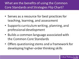Common Core Standards And Strategies Flip Chart Common Core Standards And Strategies Flip Chart Ppt Video